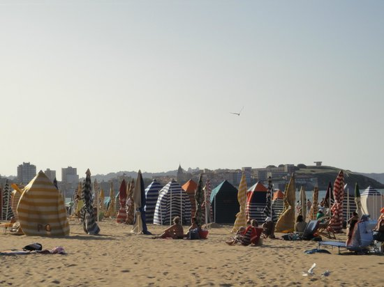 Playa de San Lorenzo: Barracas