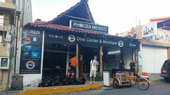 Phocea Mexico: Diving center