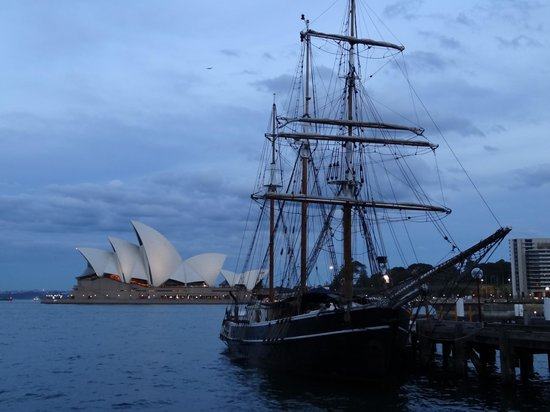 Holiday Inn Old Sydney : Nearby, beautiful Harbour views