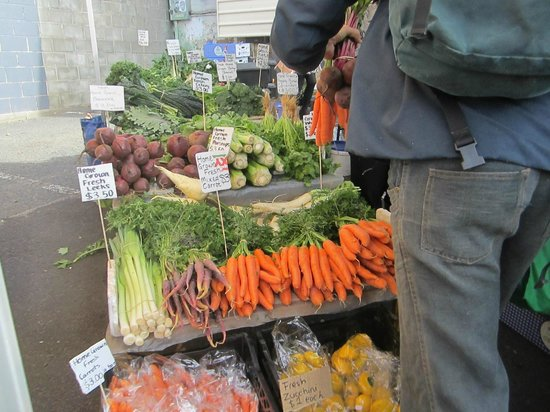 Farm Gate Market: tempted to buy some and cook a hearty meal?