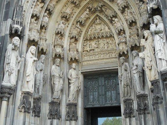 Kölner Dom: Entrance
