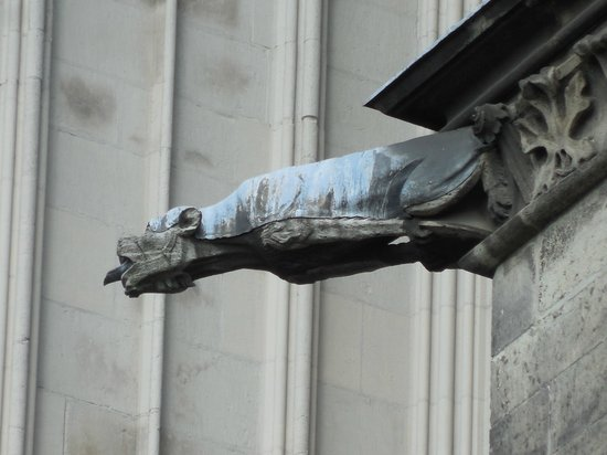 Kölner Dom: gargoyle