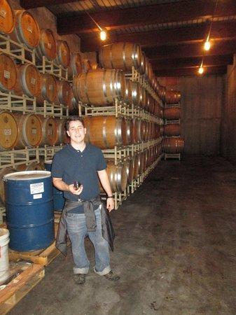 Horton Vineyards: Wine Cellar