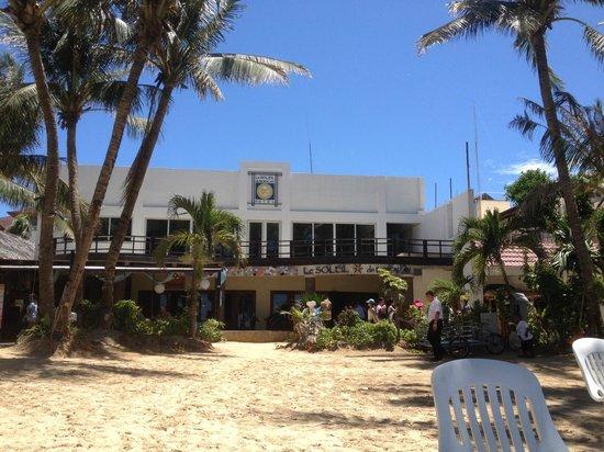 Le Soleil de Boracay: ホテルの外観