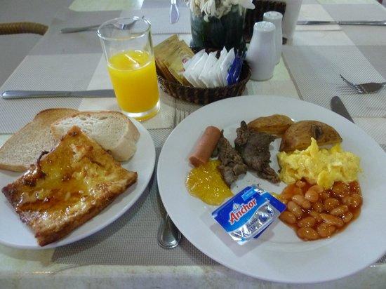 Le Soleil de Boracay : 朝食ビュッフェ