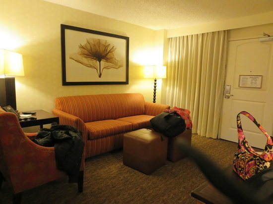 Embassy Suites by Hilton Hotel Los Angeles-Downey: Living Room