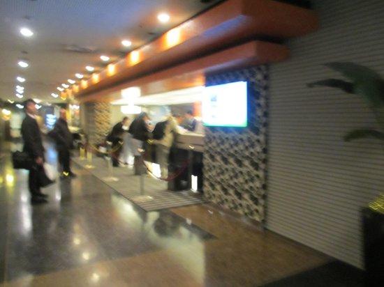 APA Hotel Nagoya Nishiki Excellent : フロント
