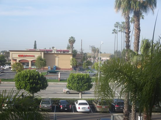 Embassy Suites by Hilton Hotel Los Angeles-Downey : View from room