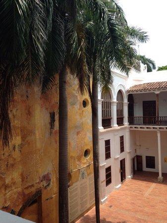 Museo Historico de Cartagena de Indias : vista do pátio interno