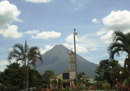 Arenal Springs Resort and Spa : downtown La Fortuna