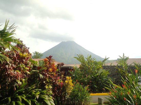 Arenal Springs Resort and Spa : view from the hotel