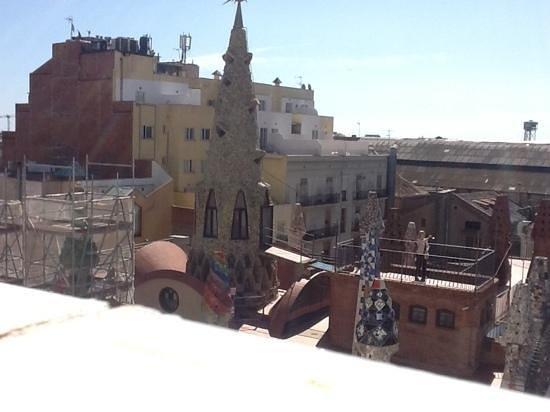 Hotel Gaudi: from terrace