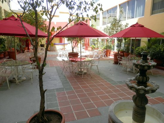 Real Inn Guadalajara Centro: Courtyard