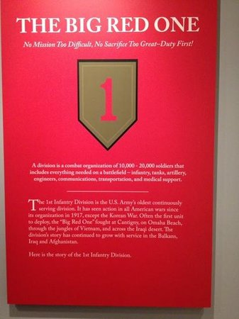 First Division Museum at Cantigny : First Division