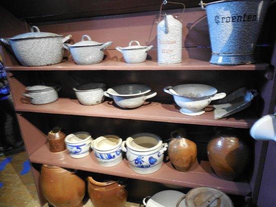 Réseau de moulins de Kinderdijk-Elshout : dishes