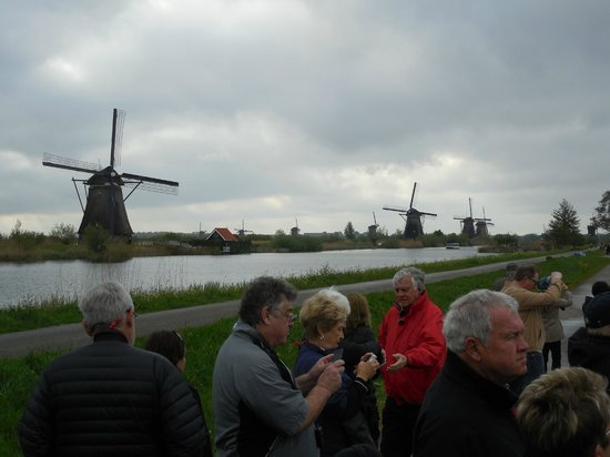 Réseau de moulins de Kinderdijk-Elshout : View of mills