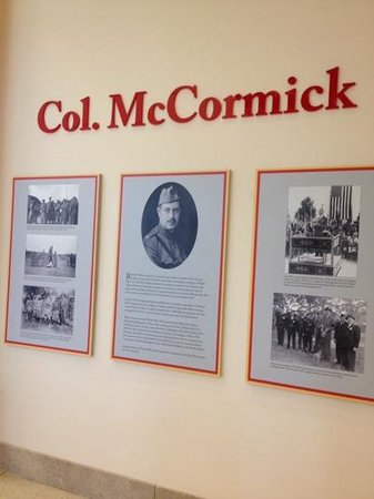 First Division Museum at Cantigny : Col. McCormick gifted Cantigny to Illinios