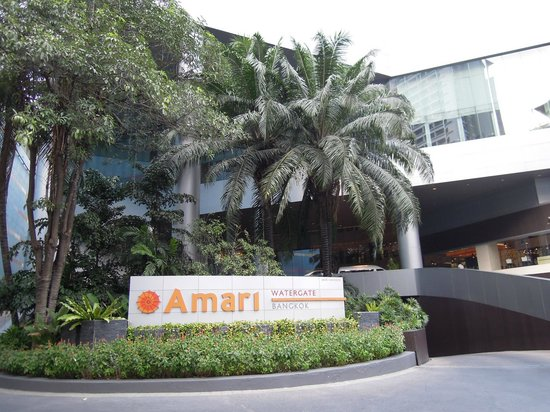 Amari Watergate Bangkok : Entrance