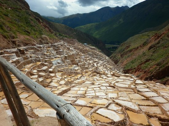 Salinas de Maras: vista panorámica