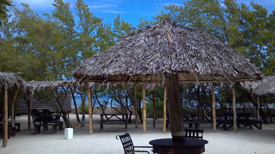 Sandals Royal Caribbean Resort and Private Island : Best view and best lunch-- Bamboo Shack on the Island!