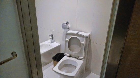 Guangdong Nanmei Osotto Hotel Haizhu: Main bathroom