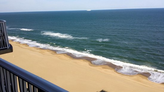 Hilton Virginia Beach Oceanfront: Balcony