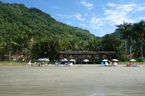 Refúgio do Corsário: Vista desde la playa