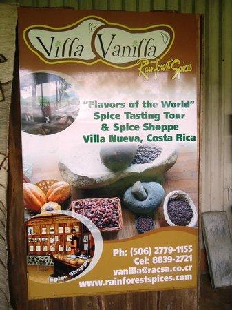 Arenas del Mar Beachfront & Rainforest Resort : Spice Farm
