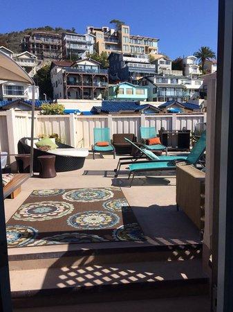 Aurora Hotel: rooftop terrace.
