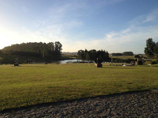Fundacion Pablo Atchugarry: Vista del lago