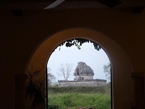 Hotel & Bungalows Mayaland: mayan observatory