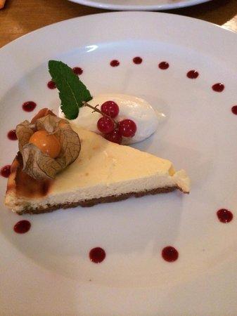 De Reiger: Lemon cheesecake, yum