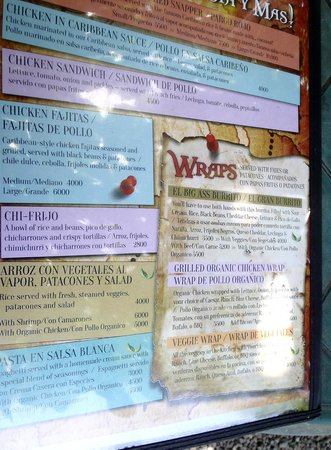 The Point Sports Bar & Grill: Menu - Wraps