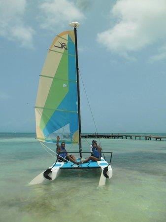Ocean Spa Hotel: Paseo en Velero en la Playa del Hotel