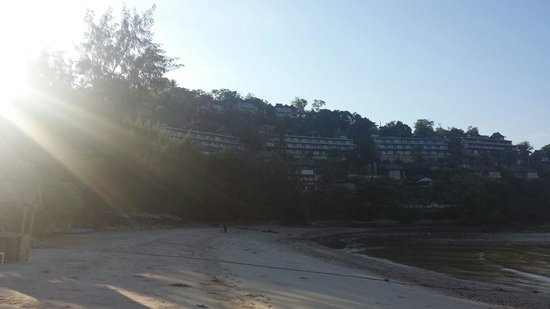 The Westin Siray Bay Resort & Spa Phuket: View from the beach of the hotel
