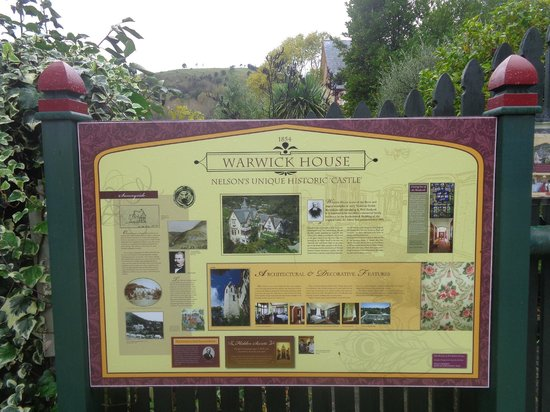 Warwick House Sign