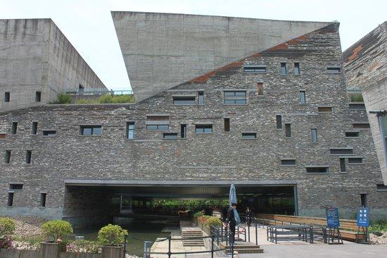 Ningbo Museum : Museum entrance