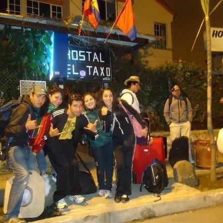 Hostal El Taxo : Amigos de Chile !! Gracias por su visita.