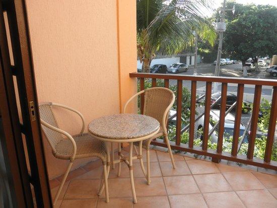 Manary Praia Hotel: Varanda do apartamento