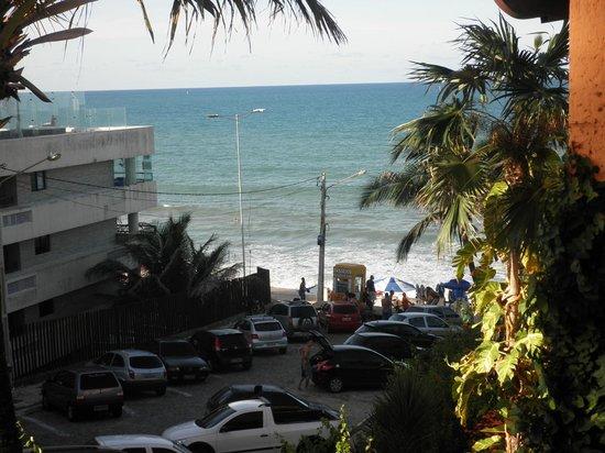 Manary Praia Hotel: Vista da varanda do apartamento