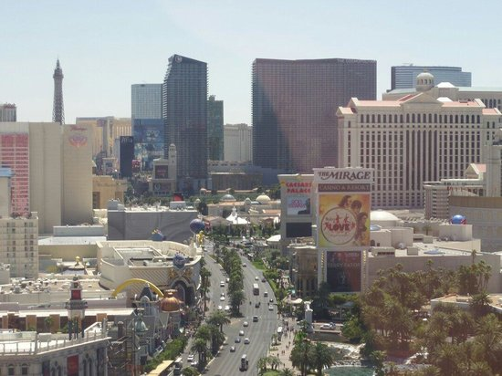 Treasure Island - TI Hotel & Casino: And the other side of the widow view