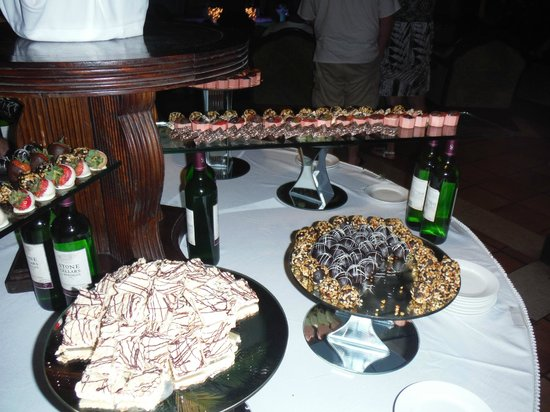 Sandals Montego Bay : The chocolate buffet