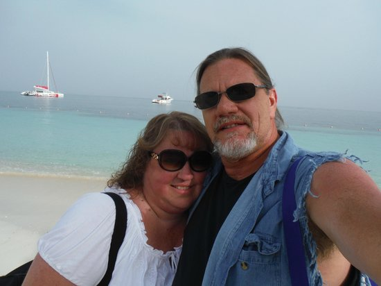Sandals Montego Bay : One last pic before we board the plane to fly back to Ohio