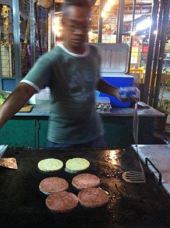 Coral Bay Resort, Pangkor : Mr Isa - The burger expert