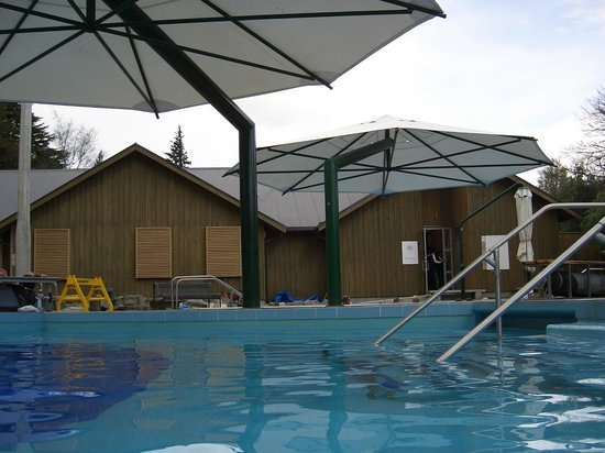 Hanmer Springs Thermal Pools & Spa: Some of the pools and spa