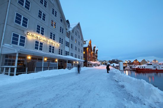 Clarion Collection Hotel With: hotel by the quayside