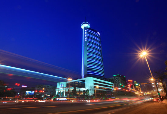 HJ International Hotel: Night-view