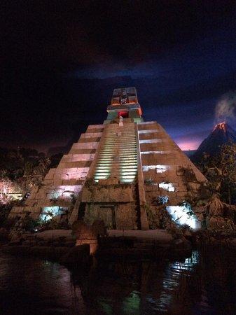Epcot: Inside the Mayan Pyramid