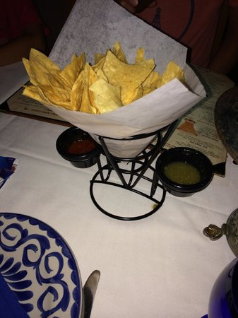 Epcot: Free chips and salsa; what's not to like?