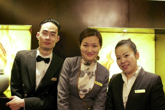 Fairmont Peace Hotel: The amazing staffs of Fairmont Gold members that made my stay memorable